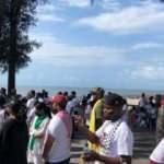 İsrail'in Filistinlilere saldırıları Mozambik'te protesto edildi
