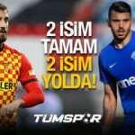 Son dakika Galatasaray transfer haberleri! Alpaslan ve Aytaç'tan sonra iki yıldız transfer daha!