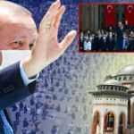 Erdoğan 150 yıllık hayali gerçekleştirdi: Taksim Camii ibadete açıldı