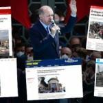 Uluslararası basın Taksim Cami'nin açılışından rahatsız oldu