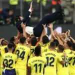 Unai Emery ve Villarreal tarihe geçti!