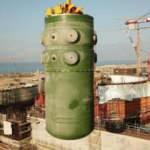 Akkuyu NGS'de birinci ünitenin reaktör kabının montajı tamamlandı