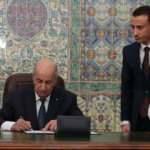 Cezayir Cumhurbaşkanı, Türkiye ile 23 yıl önce imzalanan anlaşmayı onayladı