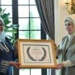 Emine Erdoğan, UN-Habitat tarafından ödüle layık görüldü