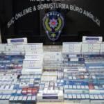 İş yerinden 2 bin 866 paket gümrük kaçağı sigara çıktı