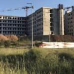 Hastane binası inşaatından düşen işçi öldü