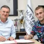 Hatayspor, Osman Şahin ile 5 yıllık sözleşme imzaladı