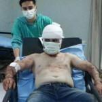 Kendisine kaçan genç kızı ailesine geri götürdü, hastanelik edildi!