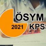 KPSS başvuruları ne zaman sona erecek? 2021 KPSS başvuru ücreti! KPSS başvuru takvimi!