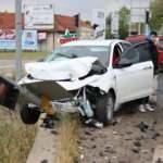 Otoyolda feci kaza!! Yaralılar var