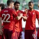 Rakibimiz İsviçre, Lihtenştayn'ı gole boğdu!