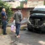 Sarıyer'de tartıştığı amcasının minibüsünü yaktı