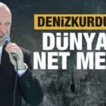 Son dakika: Erdoğan'dan 'Denizkurdu'nda' dünyaya net mesaj