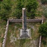 12 metre yüksekliğindeki mezar 2 bin yıldır tarihe meydan okuyor