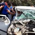 Adana'da trafik kazası! 3 ilçe milli eğitim müdürü ve 2 şube müdürü yaralandı