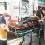 Adıyaman'da iki otomobil kafa kafaya çarpıştı: 3 yaralı