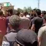 Afrin'deki saldırıda hayatını kaybeden siviller toprağa verildi