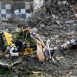 Güney Kore'de 5 katlı bina devrildi: 9 ölü, 8 yaralı