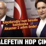 Millet İttifakı seçim stratejisinde ikilem yaşarken Akşener'in aldığı pozisyon