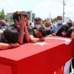 Şehit olan asker Tekirdağ'da son yolculuğuna uğurlandı