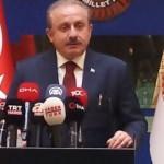 Şentop, 'Türk Dünyasının Dünü, Bugünü ve Geleceği Sempozyumu'na video mesaj gönderdi!
