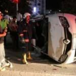 16 yaşındaki sürücü kaza yaptı!