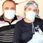 Hamileyken koronavirüse yakalandı, 1 ay sonra bebeğini kucağına aldı!