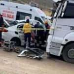 Anne ve çocukları feci kazada hayatını kaybetti