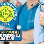 KPSS 60 Puan İle Hemşire, Ebe, Fizyoterapist, Psikolog, Alımı! Başvurular için bugün son...