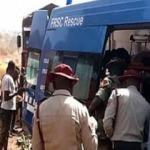 Feci kaza! Akaryakıt yüklü tanker ile minibüs çarpıştı: 7 ölü