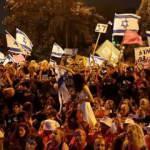 İsrailliler Netanyahu'nun gidişini kutladı!
