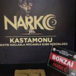 Kastamonu'daki uyuşturucu operasyonlarında 3 kişi yakalandı