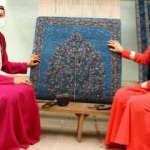 Kırgız kadınlarının el emeği halıları ihraç ediliyor