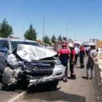 Mardin'de okul dönüşü kaza: 10 yaralı