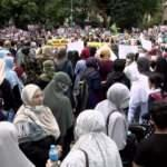 Mısır'daki idam kararları İstanbul'da protesto edildi