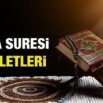 Taha Suresi Arapça okunuşu ve Türkçe meali  | Taha Suresi faziletleri...