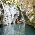 Türkiye'nin Venedik'i! İki dağ arasında sallarla yolculuk