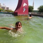 Şanlıurfa'da sıcaklık 40 dereceyi buldu!