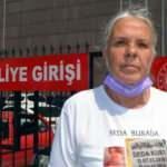 Kızı katledilen anne duruşmaya kızının mezar taşlı tişörtüyle geldi