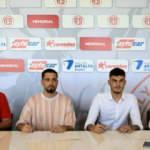 Antalyaspor'da iki imza birden