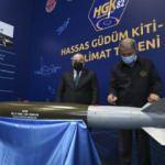 Bakan Varank ve Akar imza attı! Hassas Güdüm Kiti-82 (HGK-82) teslim edildi