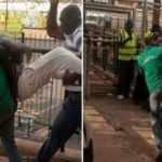 Gana'da ilginç olay! Penaltı değil diyen yorumcuyu stattan attılar