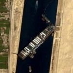 Mısır Süveyş Kanalı'nı kapatan geminin sahibi firma ile tazminat konusunda anlaştı