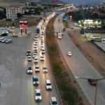 43 ilin geçiş güzergâhında trafik yoğunluğu arttı