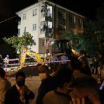 Ankara'da korkutan anlar: 5 bina tahliye edildi