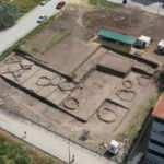 Apartman bahçesindeki kazıda tarih fışkırdı!
