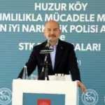 Bakan Soylu: Hiçbir uyuşturucunun ana vatanı Türkiye değildir