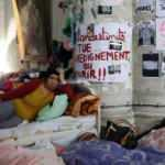 """Belçika'da 400 """"belgesiz"""" 40 gündür açlık grevinde"""