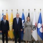 Cumhurbaşkanı Erdoğan Gölbaşı Belediye başkanı Şimşek'i ziyaret etti