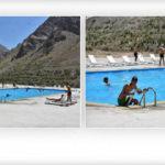 Gençler akın etti! Sümbül Dağı eteklerinde havuz keyfi